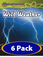Wild Weather--integrate science content with literacy development for emergent, early, and fluent readers with titles closely aligned with Common Core State Standards.