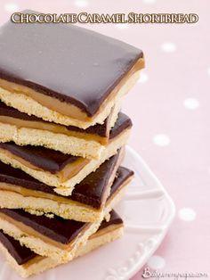 Chocolate Caramel Shortbread – Food Recipes