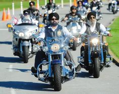Sikhs on motorcycles