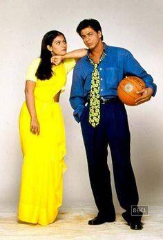 Kajol and Shahrukh Khan from Kuch Kuch Hota Hai Bollywood Stars, Bollywood Theme, Vintage Bollywood, Indian Bollywood, Bollywood Fashion, Shahrukh Khan And Kajol, Shah Rukh Khan Movies, Kuch Kuch Hota Hai, Best Bollywood Movies