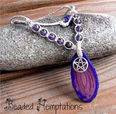 Free Shipping  Wicca/Pagan Inspired Hemp by BeadedHemptations, $24.99
