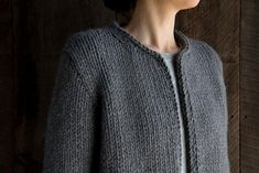 Ravelry: Classic Knit Jacket pattern by Purl Soho