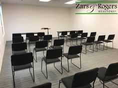 Our training room is starting to come together! There's going to be a lot of learning happening in this room! #ZarsAndRogers #Realtors #AlwaysBeLearning #MakingMoves #SanAntonioRealEstate #Office #Chairs #TheBrokerageThatWorksForYou #Hiring