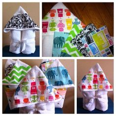Hipster Kids Hooded Towels by HipsterHouse on Etsy, $20.00