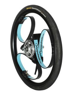 Wheel with integral suspension