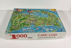 Cape Cod Vintage Original 1987 Jigsaw by ChinaBooksCardsnMore