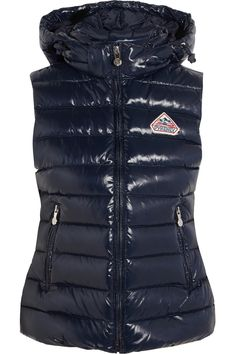 Pyrenex Spoutnic quilted glossed-shell down gilet NET-A-PORTER.COM