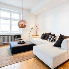 Home I Interior I Furniture I runde Kupfer Leuchte I Design I Copper Shade Lighting by Tom Dixon