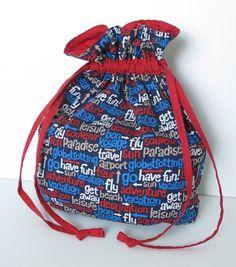 Threading My Way: Drawstring Bag Tutorial...