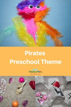 Ahoy Matey! Pirates Preschool Theme with activities and lesson plans for your interest learning centers!