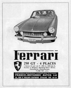 1962 Ferrari ad