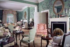 AD100 Designer Mario Buatta's Timeless Interiors