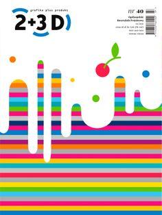 2+3D magazine cover contest, Justyna Machnicka