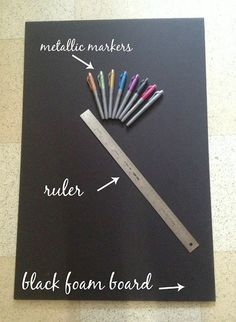 DeHart Diaries: Project: first birthday chalkboard tutorial @Pamela Hichens Manning @Kelly Teske Goldsworthy Steffek