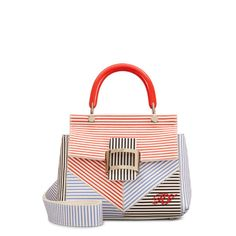 6f03e66444 See all Bags Viv  V Stripes Cabas Mini now on sale on the official Roger  Vivier.