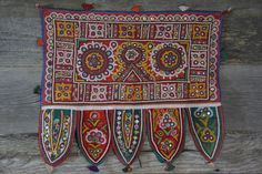 Antique Indian Wall Hanging Hand Made in India - $68 sundogimports.com