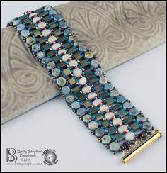 two hole honeycomb design inspiration--bracelet