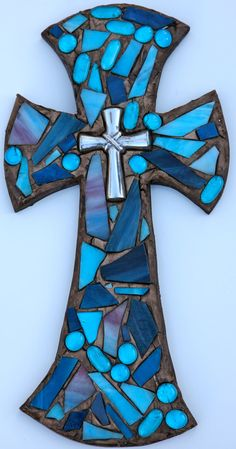 Mosaic Cross I want to make one!                                                                                                                                                                                 More