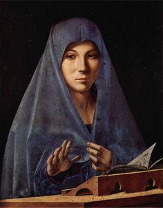 Virgin Annunciate - Antonello da Messina