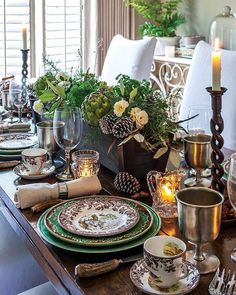 gorgeous thanksgiving table