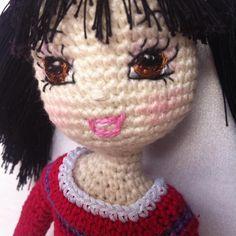 Close up. #crochetdoll #crochet