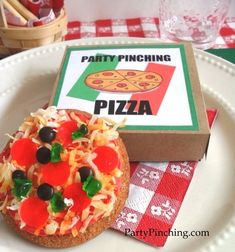 April Fools Day - Pizza cookies! From a snickerdoodle!