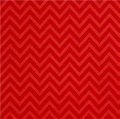 Riley Blake laminate fabric red zig-zag pattern