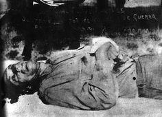 Jesús Salas Barraza: el asesinato de Francisco Villa ,,,,,, cadaver de Felipe Angeles