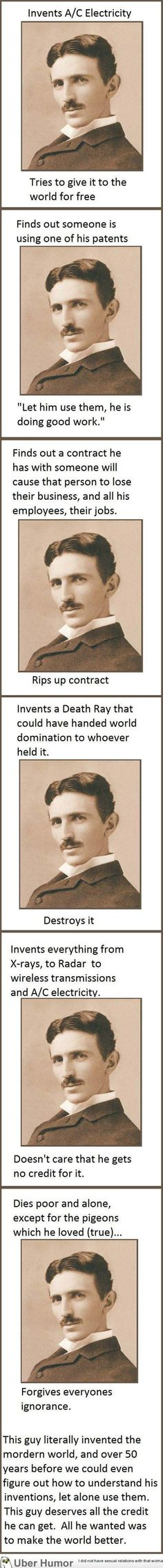 Good guy Tesla – The man who inspires me daily