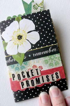 Scrapbooking Your Faith: Pocket Promises...... This is too awesome!!