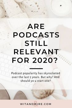 There are 700k  active podcasts and over 29 million episodes, which means podcast popularity has skyrocketed faster than a Pumpkin Spice Latte in September. But why? Here are 5 big reasons. #podcasting #startapodcast