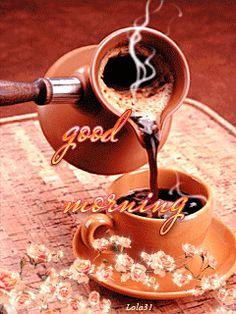 Bom dia...bom café, bom trabalho, boas decisões e boas atitudes em boas companhias.