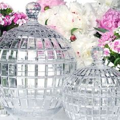 Win a centrepiece from William Yeoward Crystal filled with chocolate