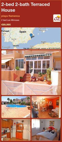 2-bed 2-bath Terraced House in playa flamenca ►€89,995 #PropertyForSaleInSpain