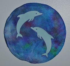 Memorizing the Moments: Coffee Filter Dolphin Craft