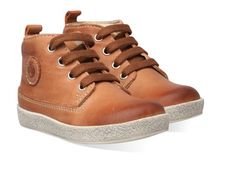 Bruine Naturino kinderschoenen Falcotto 1196 boots