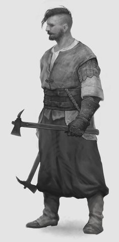 ArtStation - Cossacks sketches, Dmitry Solonin