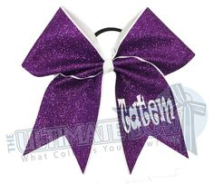 all-glitter-personalized-cheer-bow-purple-white-name