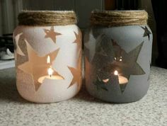 Creative DIY Mason Jar Decorations - Page 23 of 45 - VimDecor diy crafts, diy project, mason jars projects, diy and crafts mason jars Mason Jar Projects, Mason Jar Crafts, Mason Jar Diy, Diy Projects, Mason Jar Candle Holders, Baby Food Jar Crafts, Crafts With Glass Jars, Mason Jar Candles, Project Ideas