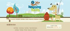 Waggingtails web design
