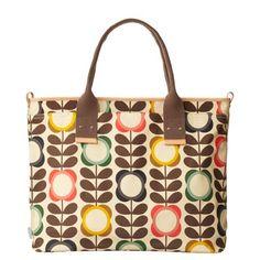 Orla Kiely bag Big Summer Flower Tote Etc Trendy Handbags, Cute Handbags, Guess Handbags, Orla Kiely Handbags, Orla Kiely Bags, What In My Bag, Large Tote, Purses And Bags, Satchel