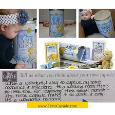 Encourage Dreaming in Children - Baby Time Capsule