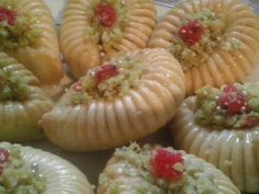 ♥ Arabic Food, Sushi, Salt, Food And Drink, Sweets, Vegetables, Cooking, Ethnic Recipes, Lemon