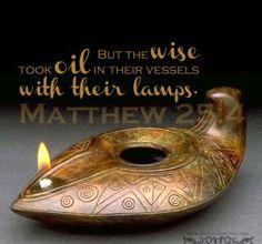 Bible virgins lamps