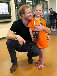 25 Times Prince Harry Was Out-of-Control Cute With Kids When He Made This Little Girl Feel Like a Princess at the Invictus Games