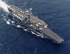 USS Forrestal (CV-59) in 1987