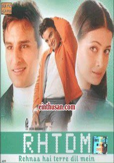 Rehnaa Hai Terre Dil Mein Hindi Movie Online - Madhavan, Diya Mirza and Saif Ali Khan. Directed by Gautham Menon. Music by Harris Jayaraj. 2001 [U] w.eng.subs