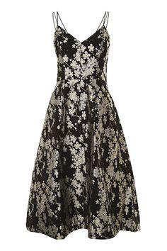 Daisy Jaquard Midi Prom Dress