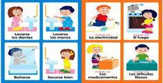 Hábitos de higiene personal y seguridad en el hogar