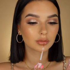 Soft Glam Makeup Tutorial – Make Up Contour Makeup, Glam Makeup, Eyebrow Makeup, Makeup Inspo, Tan Skin Makeup, Makeup Monolid, Classy Makeup, Clown Makeup, Costume Makeup